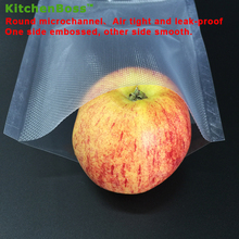 20cm x 15 meters KitchenBoss Fresh-keeping bag of vacuum sealer food storage bags packaging film keep fresh up to 6x longer