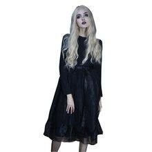 Новинка 2018 г женское платье в стиле панк европейском и американском