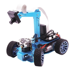 цена на Visual Patrol Smart Car Independent Steering Gear Steering Robot Ov7670 Camera Tracking Hunt For Stm32 Us Plug