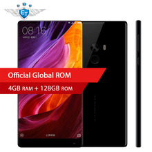 "Original Xiaomi Mi Mix Smartphone 4GB 128GB Snapdragon 821 Quad Core NFC FDD LTE 4G 16.0MP 6.4 "" 2040x1080P FHD 4300mAh QC3.0"