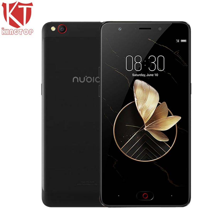 KT New ZTE Nubia M2 Play Mobile Phone 5.5 inch 32GB ROM 3GB RAM Snapdragon MSM8940 Octa Core Rear 13MP 3000mAh Fingerprint ID