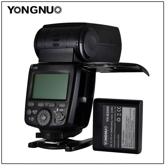 New YONGNUO YN720 Lithium Battery Speedlight Speedlite Flash with Li ion Battery battery for Canon Nikon Pentax Olympus-in Flashes from Consumer Electronics    1