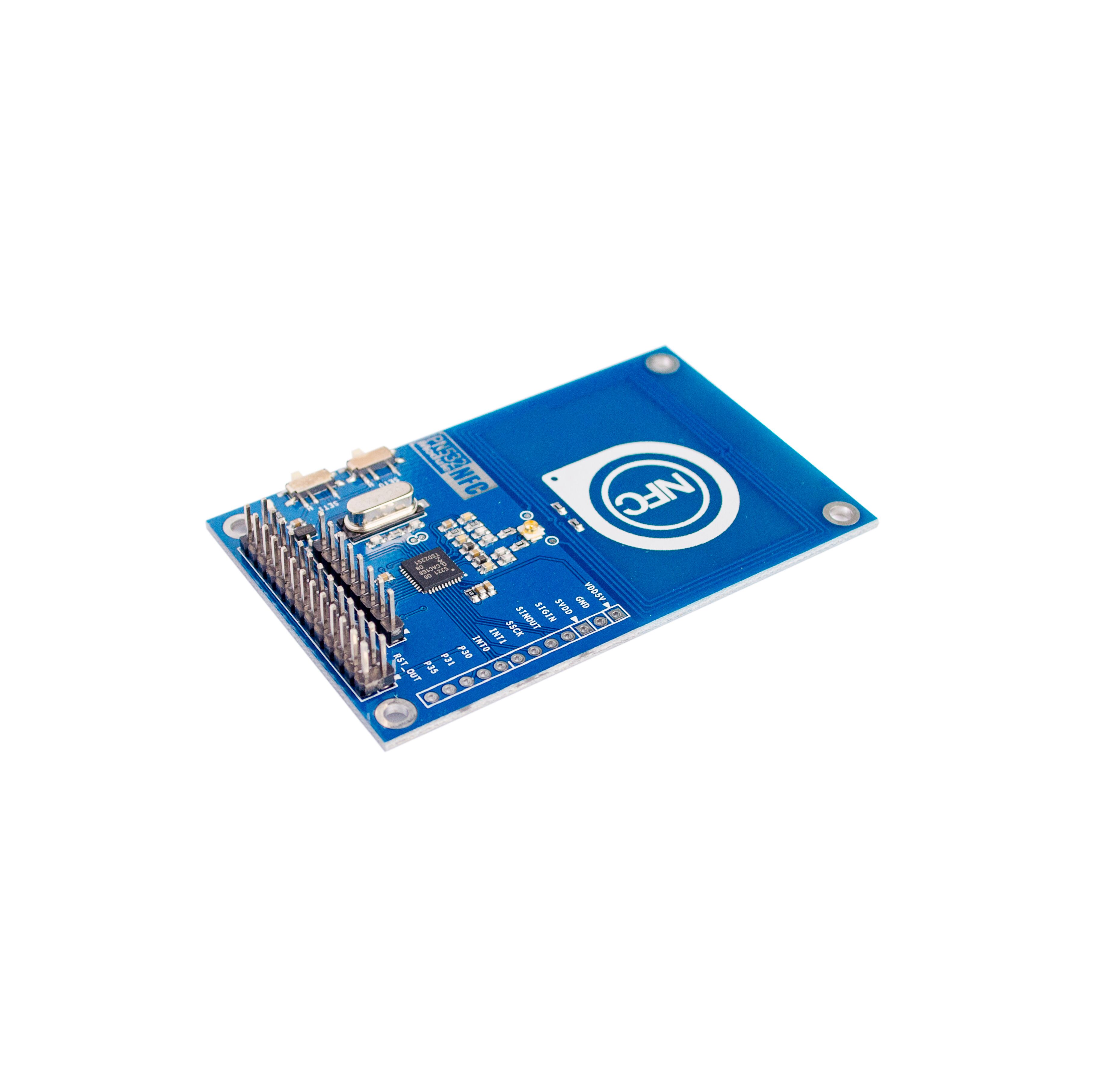 US $3 89 5% OFF|PN532 NFC Precise RFID IC Card Reader Module 13 56MHz  Raspberry PI-in Integrated Circuits from Electronic Components & Supplies  on