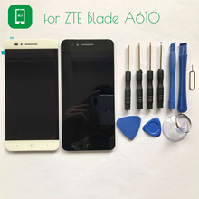 Hacrin para ZTE Blade A610 LCD Pantalla + Herramientas de La Pantalla Táctil Del Panel de Cristal Accesorios Del Teléfono de Reemplazo Para ZTE Blade A610 5.0″