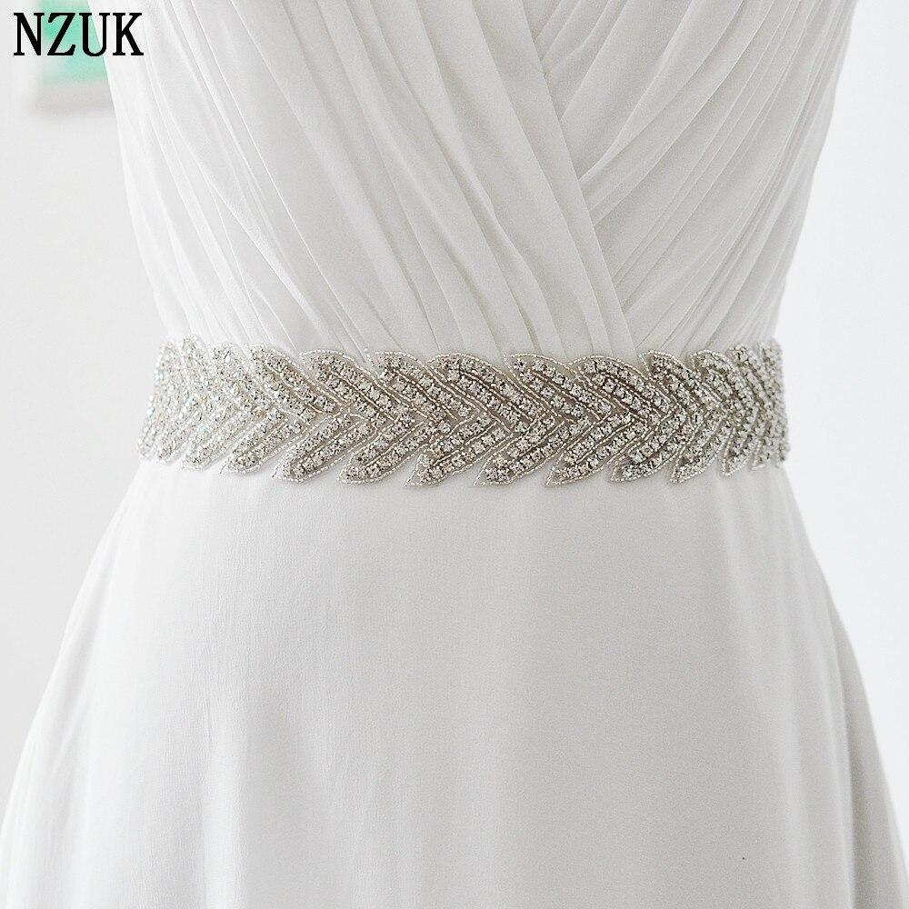 women's S238 Rhinestones Wedding evening dress sash Belts Bridal bride Belt Sashes for the party