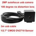2megapixel 1920X1080P MJPEG 30/60fps high frame rate OV2710 Medical autofocus no distortion lens box webcam hd 1080p usb camera