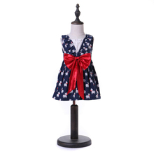 Dress For Girls Summer Sleeveless Little Pony For Baby Girl Bow Dresses Cartoon Animals 1-6Y menoea girls dress 2017 new summer lolita style striped dress bow sleeveless turn down collar design for baby girls dress 2 6y