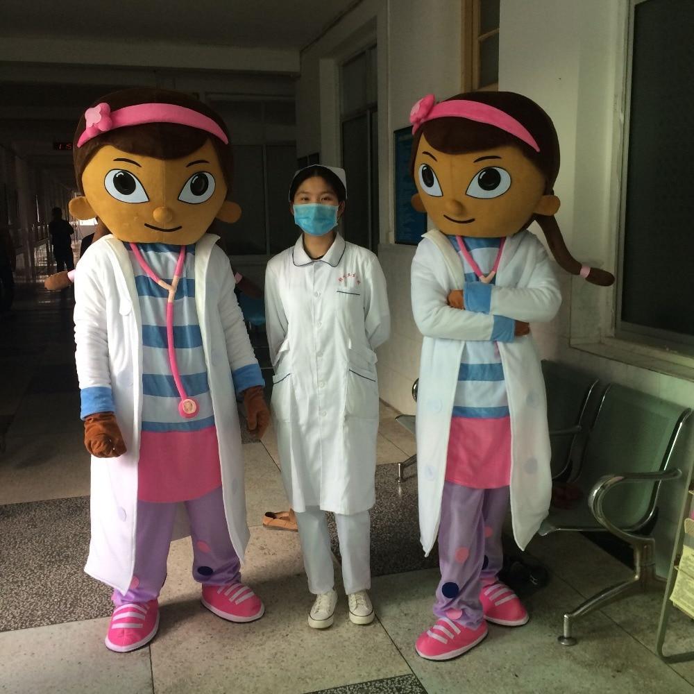 Högkvalitativa Dottie McStuffins Doc McStuffins Maskotdräkter - Maskeradkläder och utklädnad
