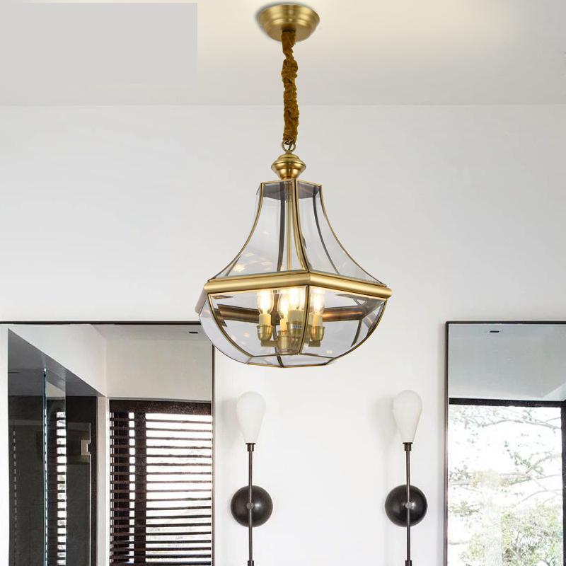 Garden Single Hanging Lamp Pendant Chandelier Balcony