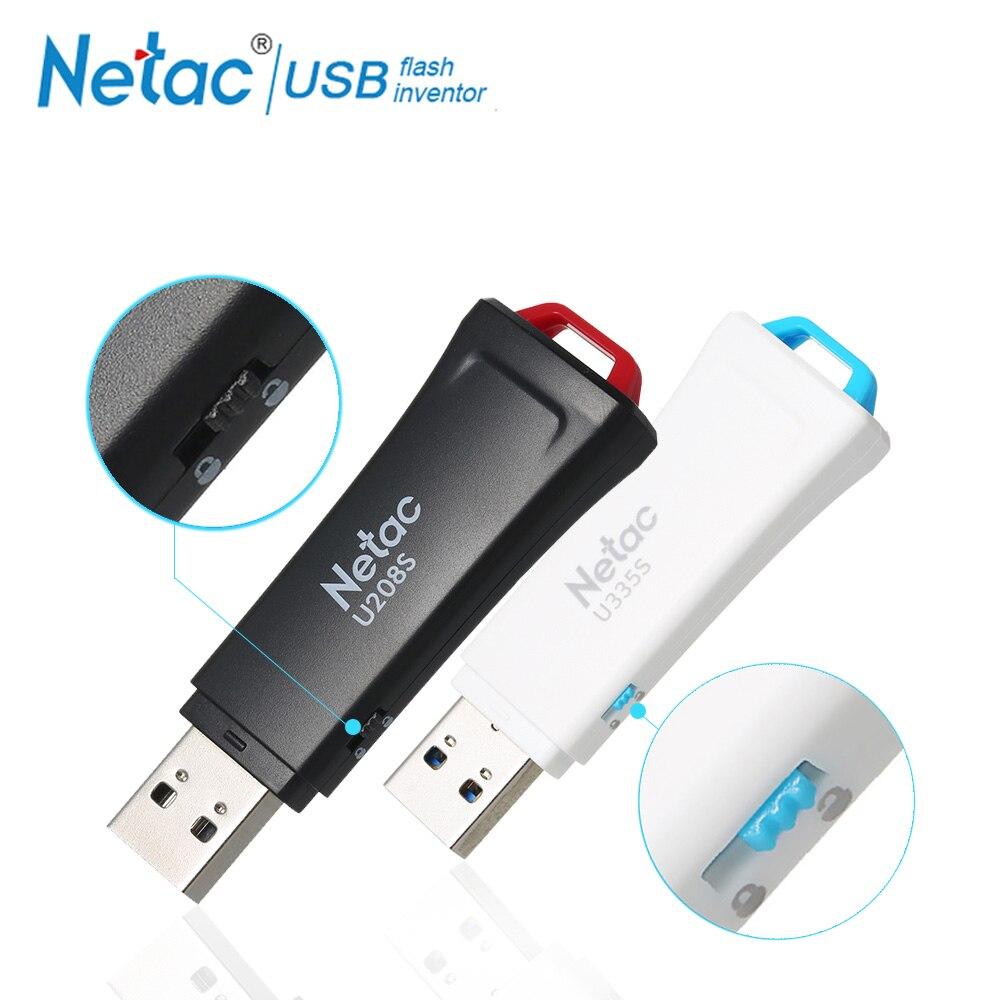 Netac Schreiben Schützen USB-Stick 8 gb 16 32 64 gb USB 2.0 3,0 Pen Drive 16 gb 32 gb 64 gb Stick Festplatte Für Laptop Computer
