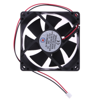 2017 New 24V 0.15A DC Speed Brushless Cooler Small Cooling Fan 80x80x25mm for Computer Case CPU Cooler Radiator