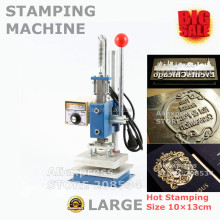 Manual Hot Foil Metal Stamping Machine Hot Press Golden Stamping Machine  10X13CM  цена и фото