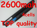 14.4 V 2600 mAh batería para Dell Inspiron N311z N411z Vostro V131 V131D V131R H2XW1 H7XW1 JD41Y N2DN5 268 X 5 312-1257 312-1258