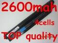 14.4 V 2600 mAh bateria para Dell Inspiron N311z N411z Vostro V131 V131D V131R H2XW1 H7XW1 JD41Y N2DN5 268 X 5 312 - 1257 312 - 1258