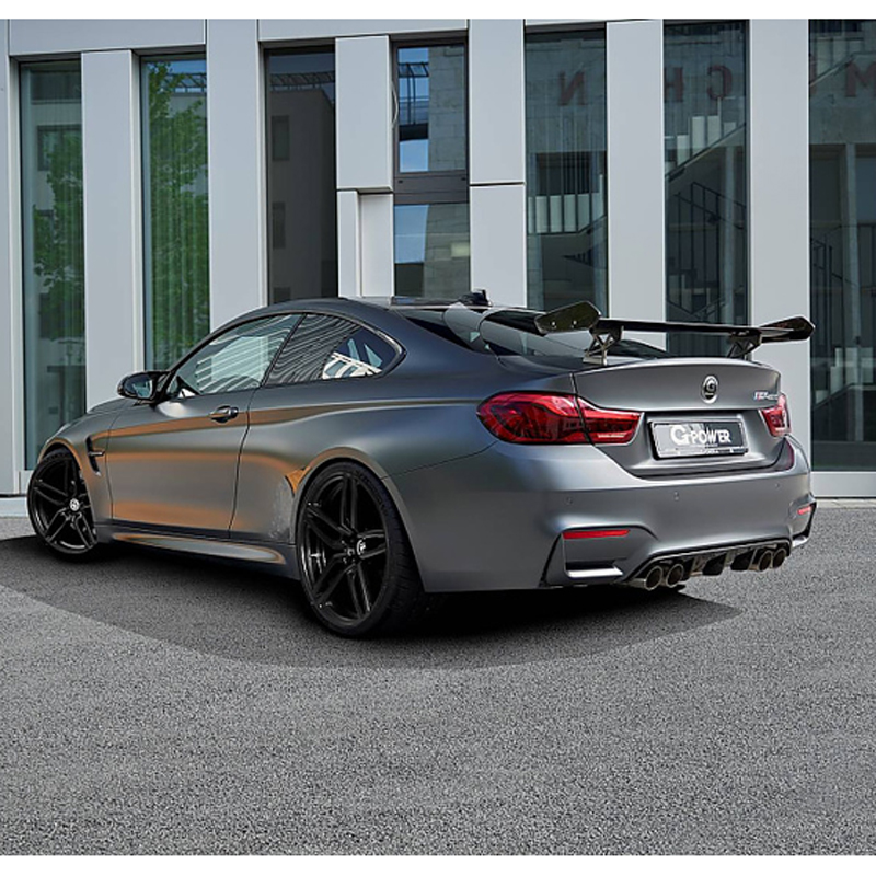 Car Styling Exterior Carbon Fiber Modified Rear Spoiler Tail Trunk Wing GTS Spoiler Decoration Fit For BMW M4 2015 цена