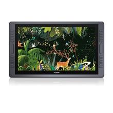 HUION KAMVAS GT 221 Pro 8192 seviyeleri kalem Tablet monitör IPS LCD HD cetvel kalemi ekran 21.5 inç