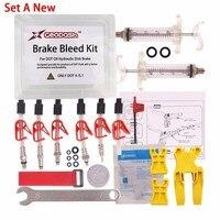 DOT Oil Disc Brake Bleed Kit AVID Sram Bike Bicycle Tool For DODE JUICY HOPE BNGAL