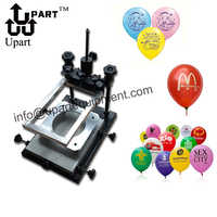 DIY balloon printing machinery hand operation balloon screen printing machine price