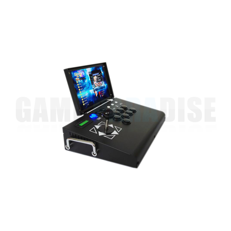 arcade stick console with 10 inch lcd 5