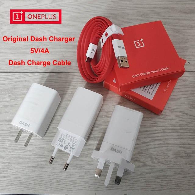 Original Oneplus 6 Dash Charger Eu Uk Us Plug Adapter 1m 1 5m Dash