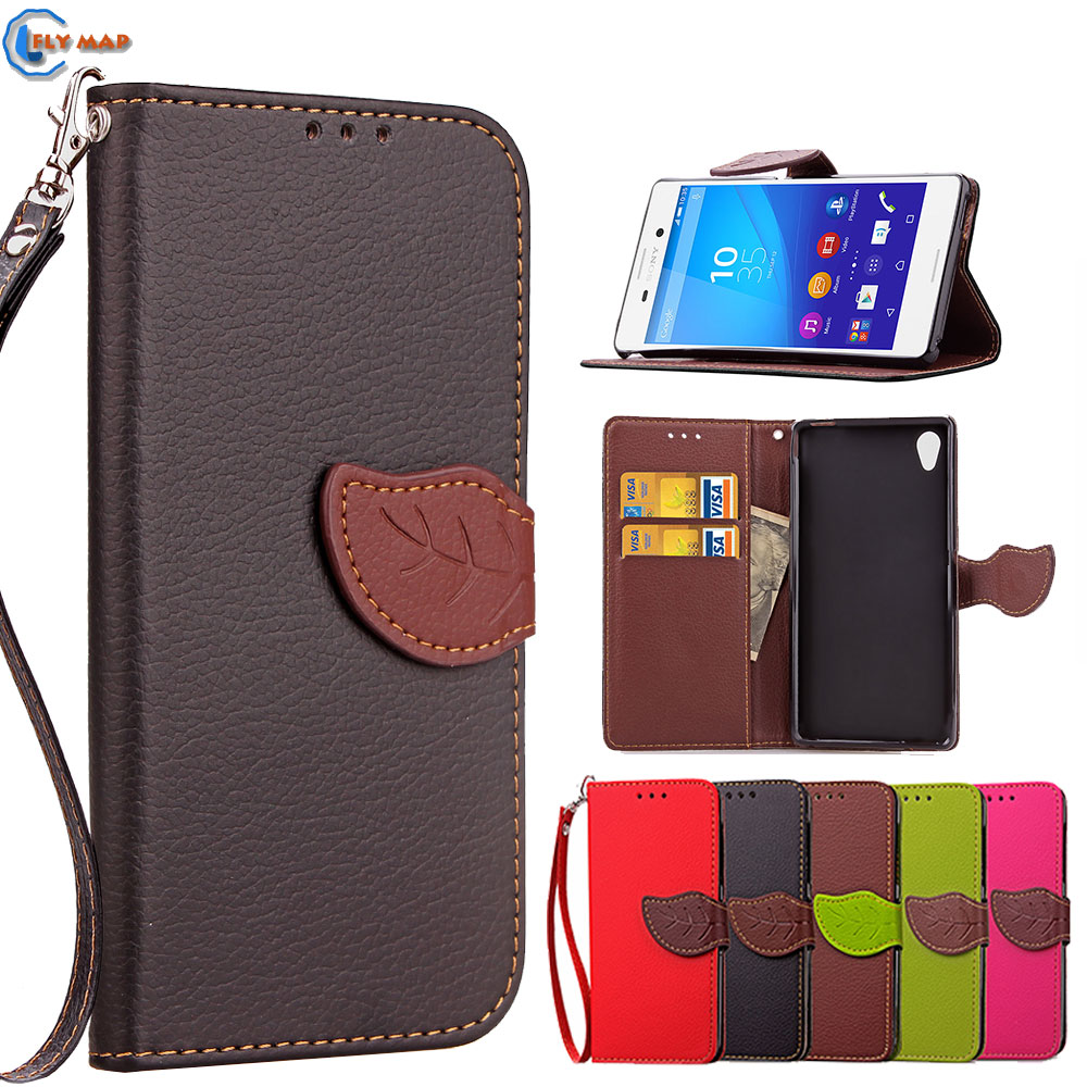 Coque For Sony Xperia M4 Aqua M4aqua E2312 E2303 Wallet Flip Phone Case Leather Cover For Sony Xperia M 4 Dual E 2312 2303 Capa