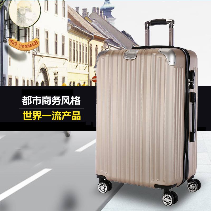 20-inch pull rod box universal wheel travel luggage bag zipper suitcase card board box