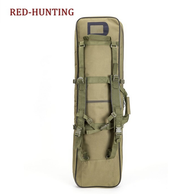 Dual Rifle Carrying Case Gun Bag Backpack Portable Outdoor Tactical Long Guns Bag 33''/39''/47'' 4