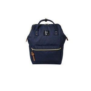 Image 2 - Yeni moda anello yüzük okul sırt çantası 15.6 inç tuval laptop yüzük paketi japonya marka genç erkekler ve kadınlar sırt çantası
