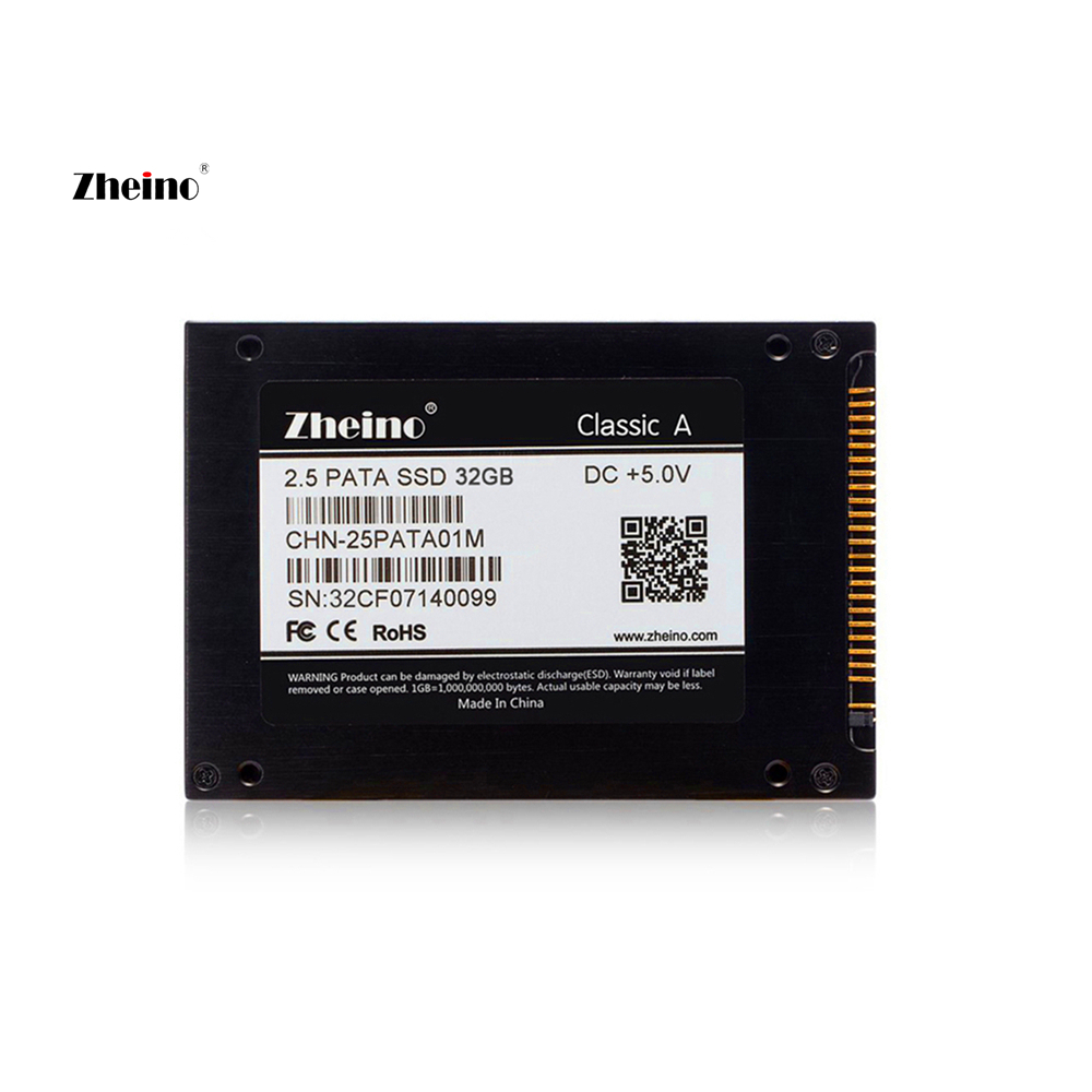 Zheino 2.5 inch/9.5mm 44PIN IDE PATA 32GB SSD Internal Solid Disk Drive 2D MLC NOT 3D TLC Hard Disk Drive For Laptop PC
