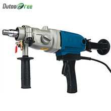 цена на 1800W Power Tools Diamond Drilling Machine Portable Adjustable Water Drilling Machine Drilling Concrete Reaming Machine