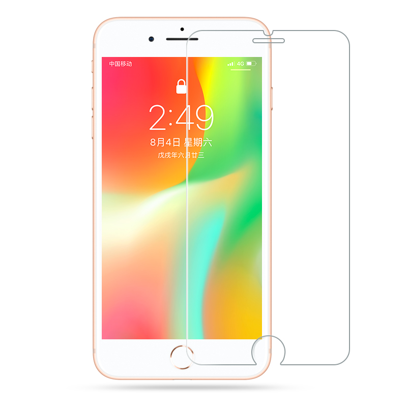 iPhone 7 glass on iPhone 8 plus 6 6S screen protector for iPhone X XS MAX XR protective glass to iPhone 5 5S SE tempered glass