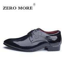 Zero более оригинальные брендовые Мужские модельные туфли удобные из искусственной кожи оксфорды для мужчин полые формальные свадебные туфли плюс Размеры 37-48