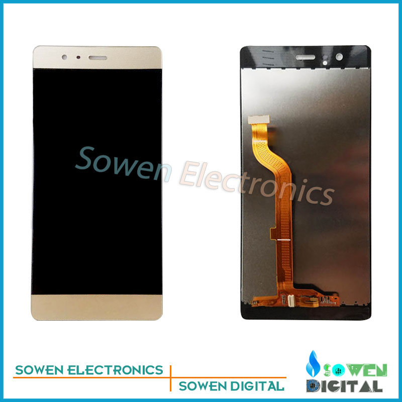 ФОТО for Huawei P9 EVA-L09 EVA-L19 EVA-AL00 LCD display Screen with Touch Screen digitizer assembly full sets , black white golden
