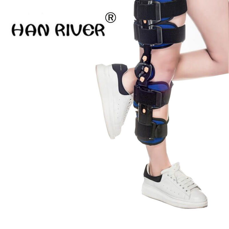 HANRIVER Knee medial collateral ligament adjustable knee joint fractures with a fixed bracket orthotics siku модель машины с прицепом и спортивной машиной 2544