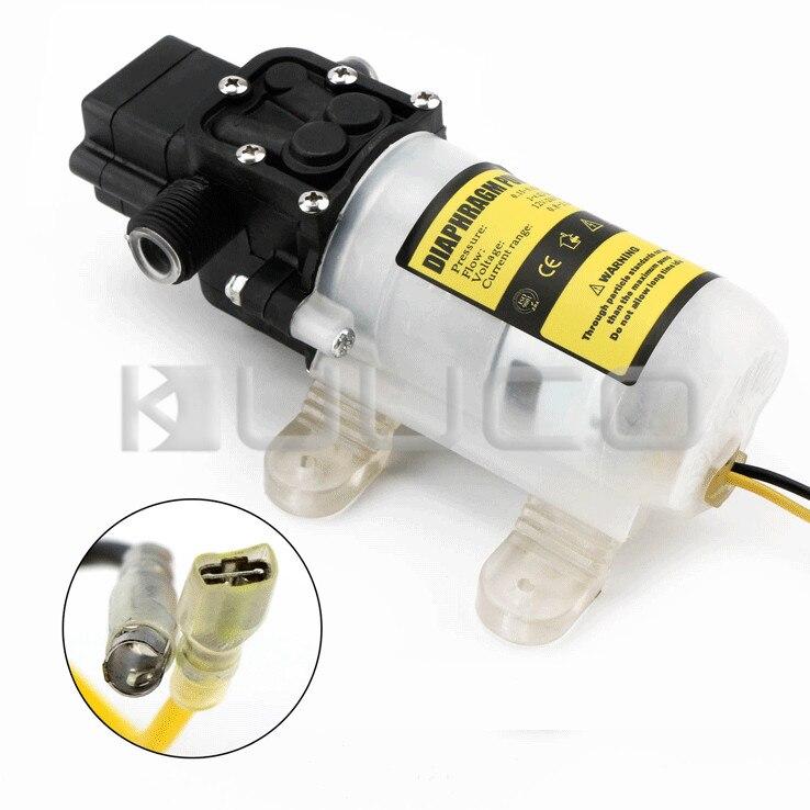 Pompe à diaphragme 60W DC 12V 5A pompe auto-amorçante Micro diaphragme électrique commutateur automatique pompe à eau haute pression - 6