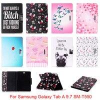 For Samsung Galaxy Tab A 9 7 SM T550 T550 T551 T555 Cute Cartoon Dog Love
