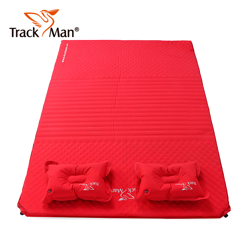 2 Person Automatic Self-Inflating Sleeping Mattress with Pillow pad Travel Hiking Cycling Moisture-proof Outddor Camping  Mat 2 person automatic inflatable cushion inflating mattress moisture proof cushion beach fishing hiking travel outdoor camping mat