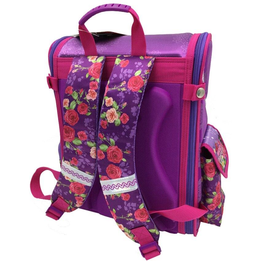 5b2ca75439 ... Girls Backpack School 2018 New Children Rose Flower Orthopedic. sku   32799346768