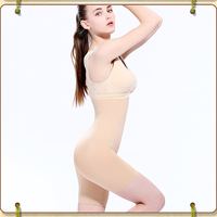 Summer thin section breathable postpartum tummy hip shaping pants fat mm large size waist slimming underwear women high waist