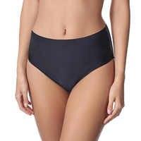 Bikini Bottom High Waist Swimsuits Triangle Swimwear Women Bathing Suit Pants