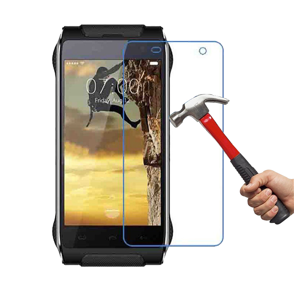 For HOMTOM HT20 0.3mm 2.5D Premium Tempered Glass Scratch-proof Screen Protector Glass Film for HOMTOM HT20 Pro Smartphone Film(China)