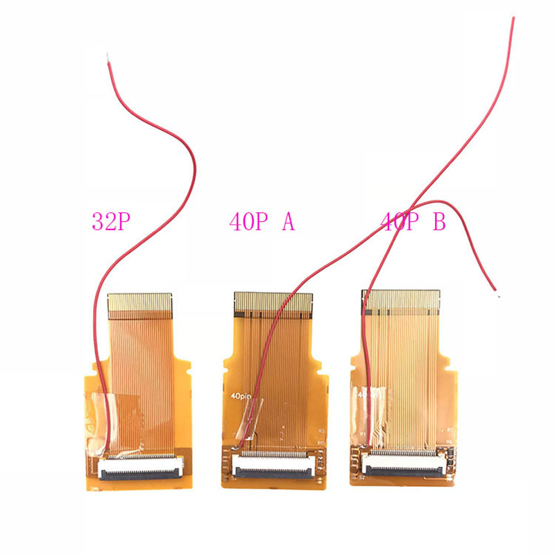 For <font><b>GameBoy</b></font> <font><b>Advance</b></font> Ribbon Cable New Verison 32 40 Pin <font><b>AGS</b></font> <font><b>101</b></font> Backlit Adapter Mod image