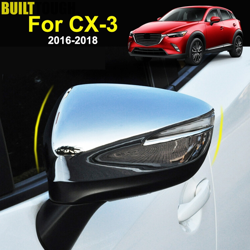 Front Bumper Trim Compatible with MAZDA CX-3 2016-2018 Passenger Side Chrome