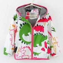 Коллекция года, весенне-осенние куртки для девочек детские толстовки Детская Верхняя одежда Одежда для девочек куртка для девочек с рисунком детская верхняя одежда, От 2 до 8 лет