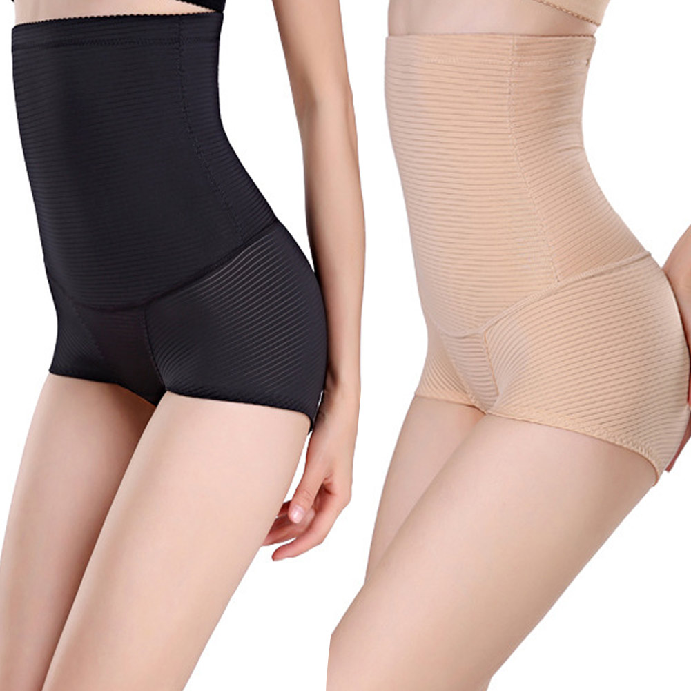 f7ba82aef1 Women Tummy Control Panties High Waist Body Shaper Seamless Sexy Slimming  Corset Briefs Shapewear Girdle Belly Hip Underwear-in Control Panties from  ...