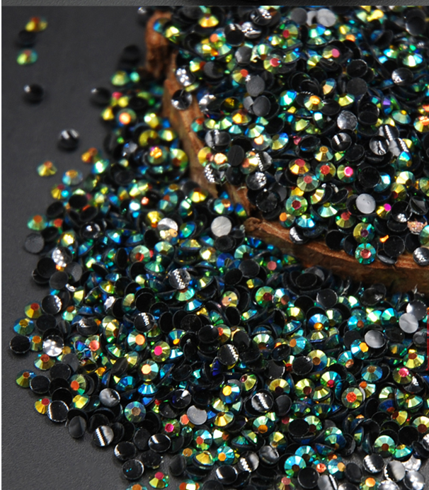 2MM 100pcs/pack nail Rhinestones Acrylic hot sale ab color decoration diy decoration accessories tool