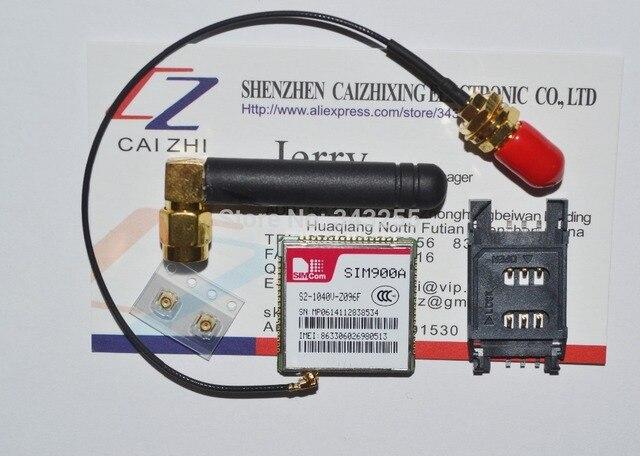 Бесплатная Доставка SIM900 SIM900A SMT тип GSM/GPRS модуль + Четыре вида аксессуары, SIM900A части Теста