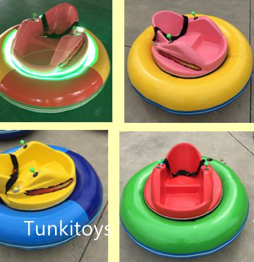 CE And TUV Approved Exciting Inflatable UFO Style Ice Bumper Car On Ice