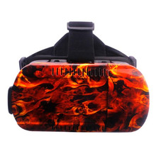 Hot Selling Undead Chariot VR BOX 5 Generations Cool Virtual 3D Glasses Field Camouflage Adjustable For Smartphone Wholesale