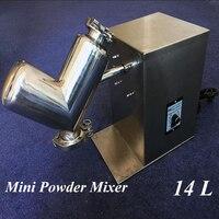 Мини смеситель для сыпучих материалов 14L пони тип вертикальный смеситель маленький Миксер для сырья сухой порошок блендер VH 14
